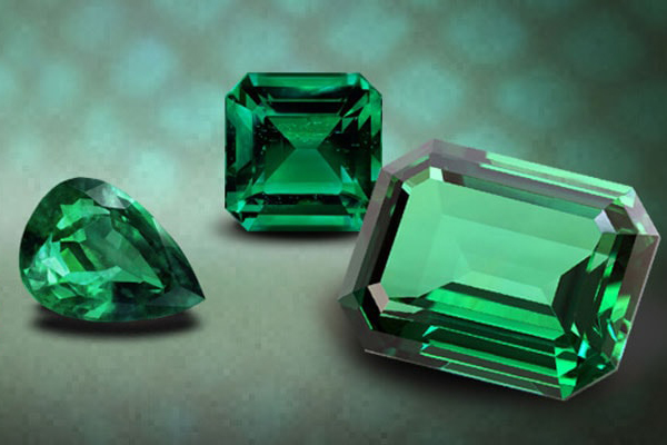 Emerald chế tác faxet